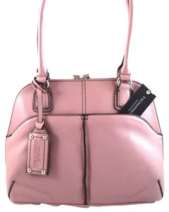 Tignanello Satchel in Purple Mauve