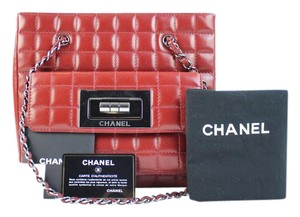 Chanel Satchel Reissue Quilted Rouge Chain Tote Shoulder Bag