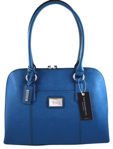 Tignanello Satchel in Peacock Blue