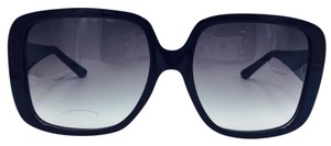 Cartier Black Oversize Square Cartier 140 Sunglasses