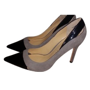 Ivanka Trump Black and Gray Pumps