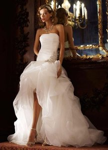 Galina Spk470 White Wedding Dress