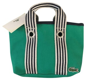 Lacoste Tote in Green Meadow