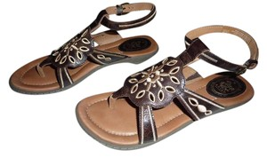 Ariat Brown Leather Sandals