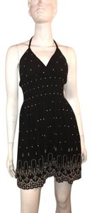 Heart Soul dress short dress black and white dot on Tradesy