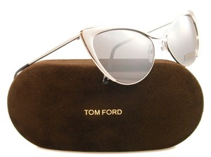 Tom Ford Silver tone Tom Ford Nastasya cat-eye sunglasses