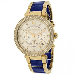 Michael Kors Michael Kors Women's Chronograph Parker Gold-Tone Watch MK6238