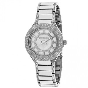 Michael Kors Michael Kors Women's Mini Kerry & Pave Crystal Watch MK3441