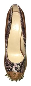 Liliana Dark Brown Pumps