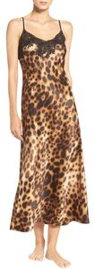Leopard Maxi Dress by Natori New With Tags