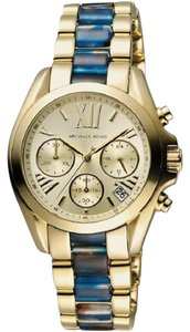 Michael Kors Michael Kors Women's Mini Bradshaw Gold-Tone Watch MK6318
