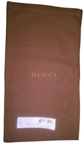 Gucci Dust Shoe brown Travel Bag