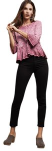 AG Adriano Goldschmied Stevie High Rise Ankle 27 Skinny Jeans-Dark Rinse