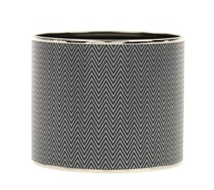 Hermès Chevrons Extra Wide Bangle