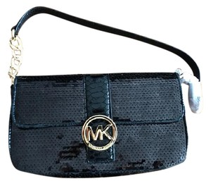 Michael Kors Chic Sequin Night Out Classic Shoulder Bag