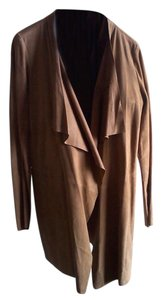 Eileen Fisher Suede Natural Leather Jacket