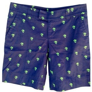 Lilly Pulitzer Bermuda Shorts Blue/ Green
