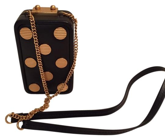 Preload https://item4.tradesy.com/images/marc-by-marc-jacobs-cross-body-bag-black-and-gold-2101298-0-0.jpg?width=440&height=440