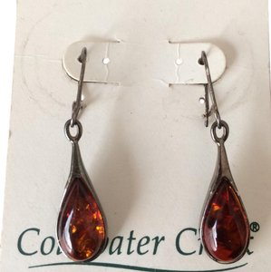 Coldwater Creek Amber Teardrops
