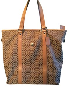 Coach Travel Tote in Brown