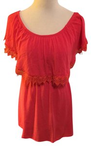 Charlotte Russe short dress Tangerine on Tradesy