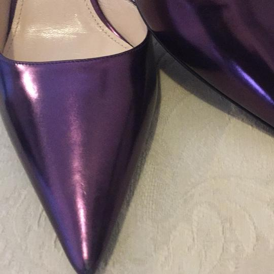 Prada metallic purple/lavender Pumps Image 2