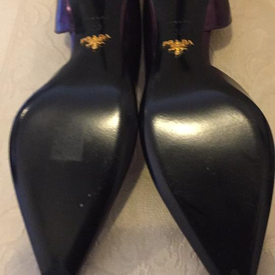 Prada metallic purple/lavender Pumps Image 6