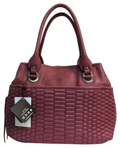 Aimee Kestenberg Satchel in crimson