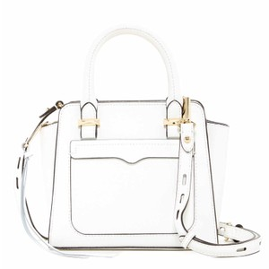 Rebecca Minkoff Minkoff Micro Avery White Cross Body Bag