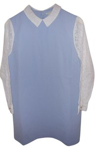 Forever 21 short dress Blue Lace Spring on Tradesy