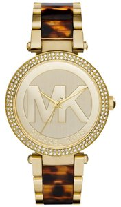 Michael Kors NWT Michael Kors Gold-Tone Parker Watch MK6109