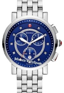 Michele @ RESERVED NWT LARGE SPORT SAIL DIAMOND DIAL WATCH