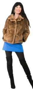 Saga Furs Fur Mink Black Mink Mink Jacket Mink Fur Coat