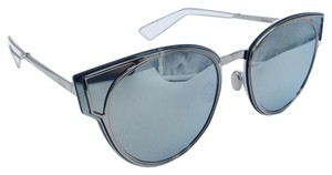 Dior Impressive Round Cat Eye Palladium Dior Sculpt Sunglasses 010DC 63