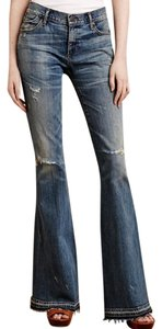 Citizens of Humanity Boho Distressed Anthropologie Flare Leg Jeans-Distressed
