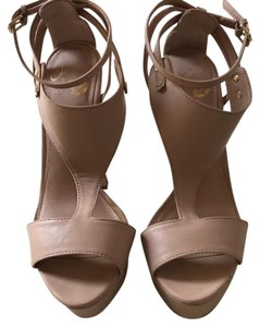 Colin Stuart nude leather Platforms