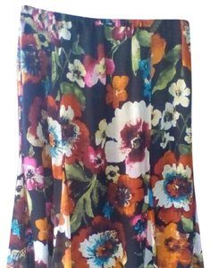 Chico's Spring Skirt Floral