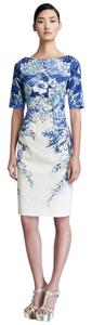 Lela Rose short dress Blue Elizabeth And James Dvf Zimmermann Alice Olivia Tory Burch on Tradesy