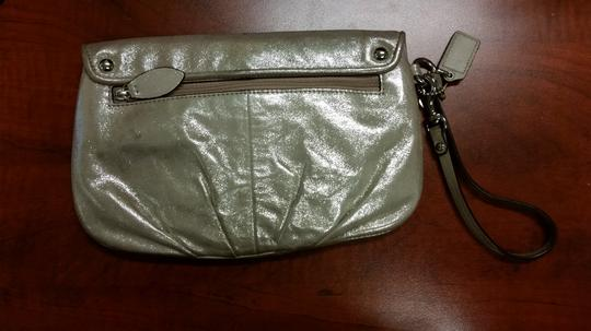Coach Wristlet in Taupe