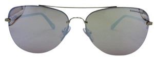 Tiffany & Co. Fancy Aviator Gold and Tortoise Tiffany & Co. Sunglasses TF 3054-B 59