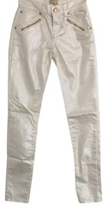 Arden B. Arden B. Skinny Faux Leather Skinny Jeans-Coated