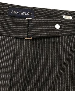 Ann Taylor Relaxed Pants pinstripe black/white