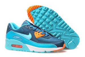 Nike Air Max Sneaker Air Max 90 Space Blue/ Hyper Turquoise Athletic