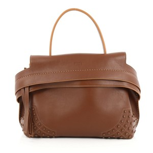 Tod's Leather Satchel in Brown