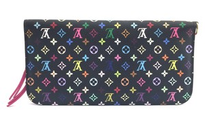 Louis Vuitton #11059 monogram multicolore Grenade Long organizer Wallet Zip around