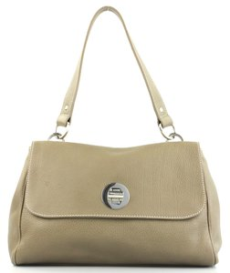 Tiffany & Co. Classic Leather Quality Details Satchel in Taupe