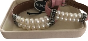 Honora leather and pearl