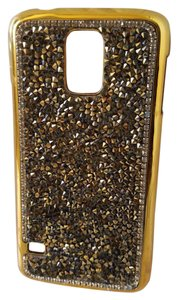 Other Samsung S5 Gold nuggets Cellphone Cover (used)