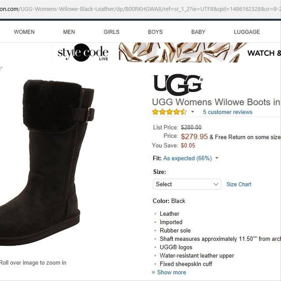 1d471a7a639 Black Wilowe Boots/Booties