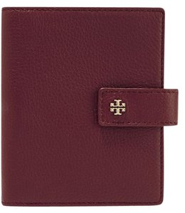 Tory Burch TORY BURCH Textured-leather passport cover